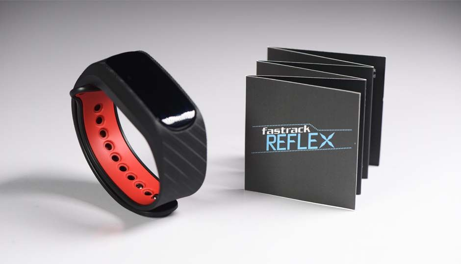 Fastrack Reflex is an activity tracker full of style that ...