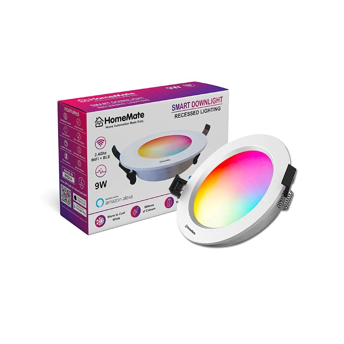 HomeMate 9-Watts B22 Wi-Fi Smart LED