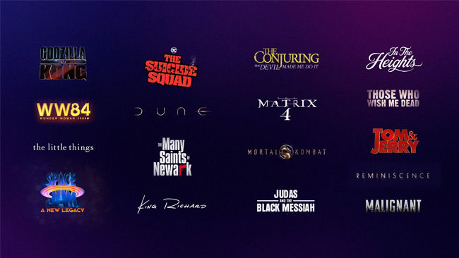 Upcoming WB Movies that will be released to streaming services