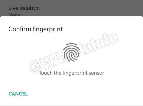WhatsApp biometric authentication feature spotted in Android beta