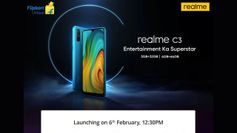 Realme C3 to be launched in India today: Live stream, expected price, specs and more