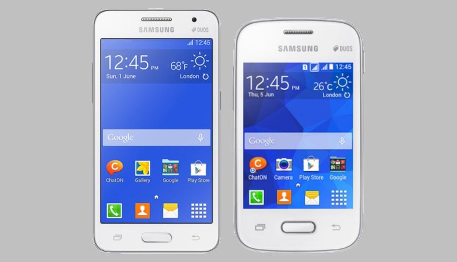 Samsung Galaxy Core 2 And Pocket 2 Press Images And Specs