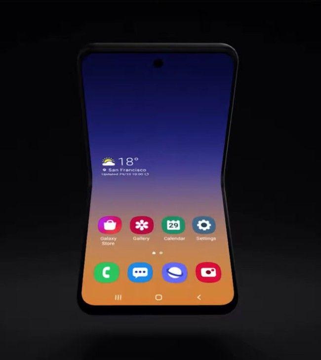 Samsung Galaxy Fold 2 flip phone foldable phone prakhar khanna