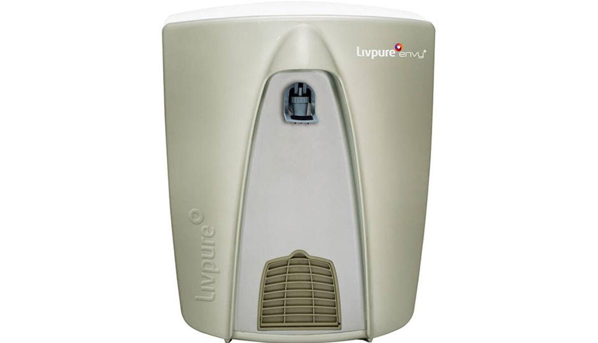 Livpure Envy Plus 8 L RO + UV +UF Water Purifier (Metallic Grey)
