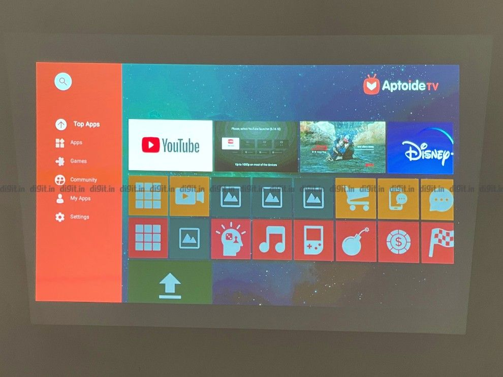 The BenQ GS2 supports the Aptoide App store.