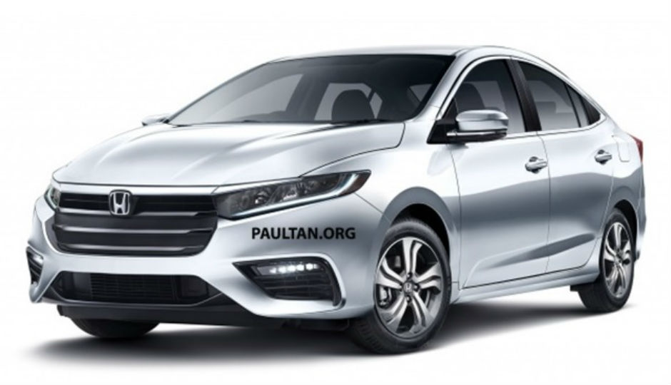 This Is How The 2019 Honda City May Look Like!