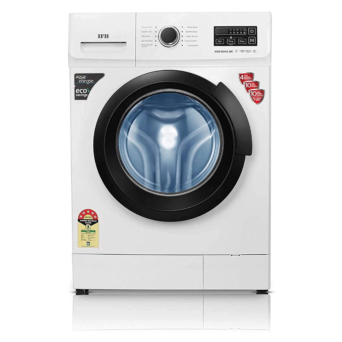 IFB 7 Kg Fully-Automatic Front Loading Washing Machine (Neo Diva BX)