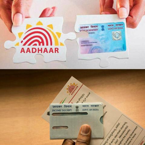 How to link aadhaar with PAN