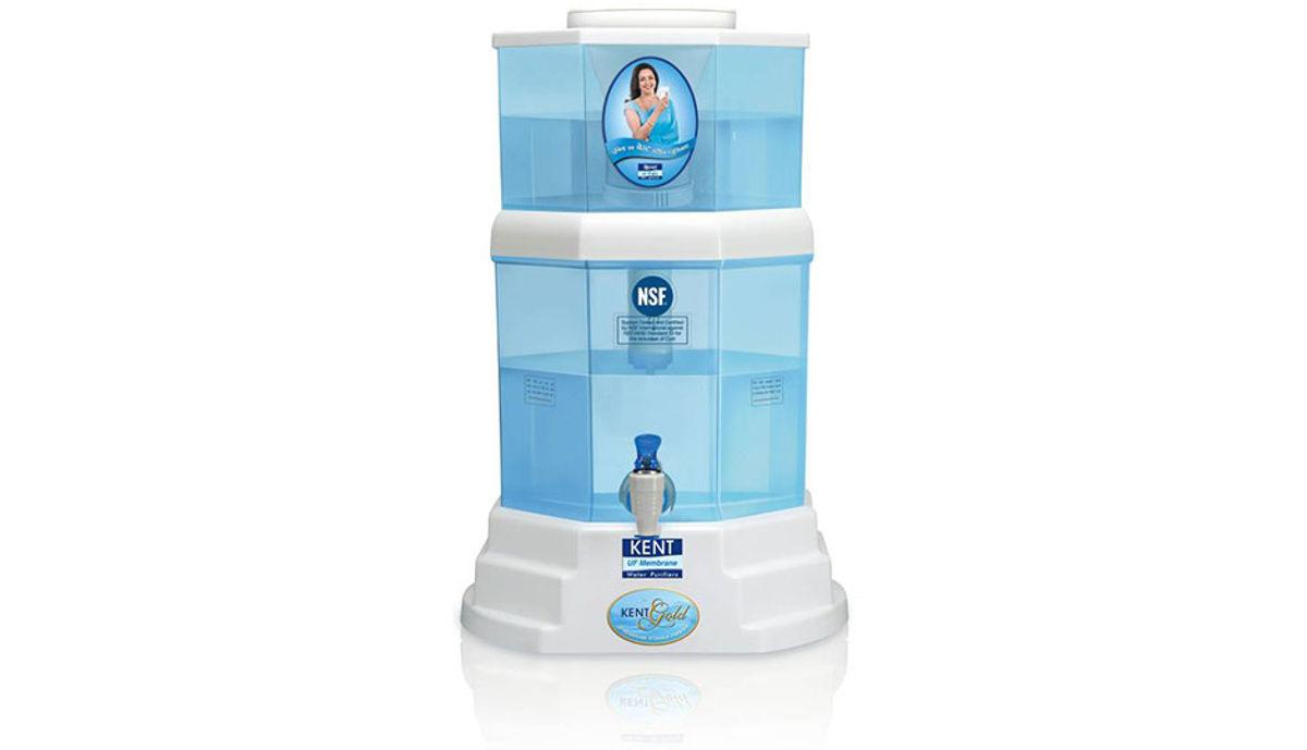 Kent GOLD (11014) 20 L UF Water Purifier (White & Blue)