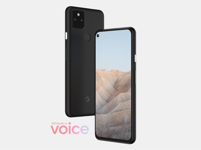 Google Pixel 5a leaked specifications