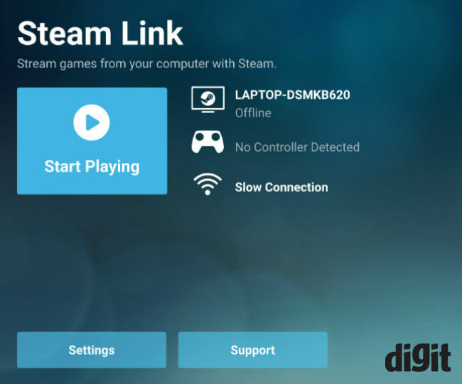 Steam Link Beta app hands-on: Gaming on the go