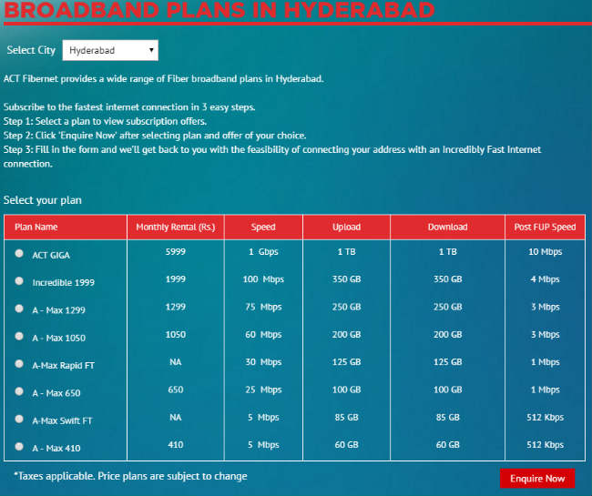 Best broadband plans in India from Airtel, BSNL, Hathway and more