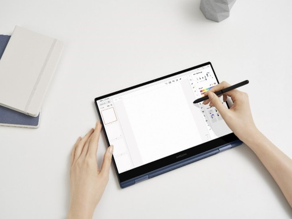 Samsung Galaxy Book Pro 360: Design