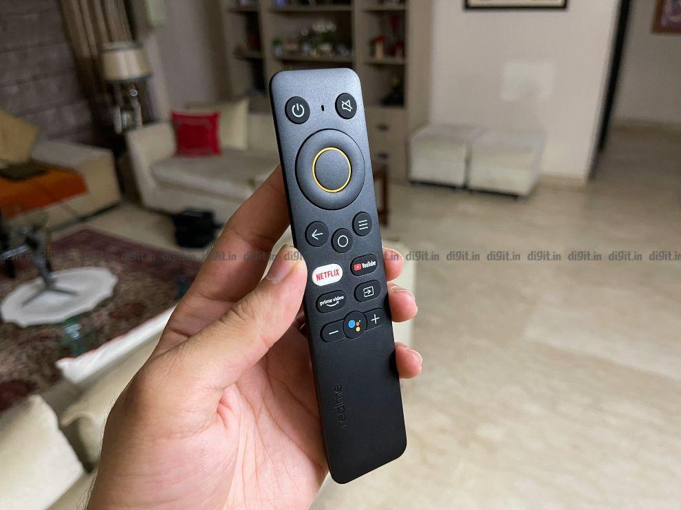 Realme 32-इंच FHD टीवी रिमोट कंट्रोल।