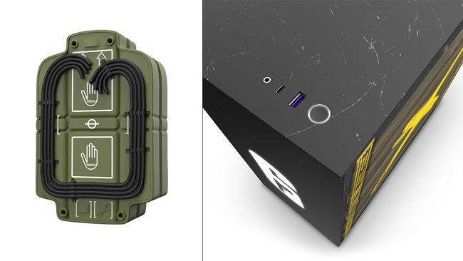 NZXT H510 CRFT 06 H510 Siege Rainbow Six Siege Puck Texture