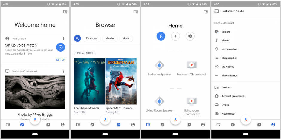Google home app with material design in works report - Design my home app ...