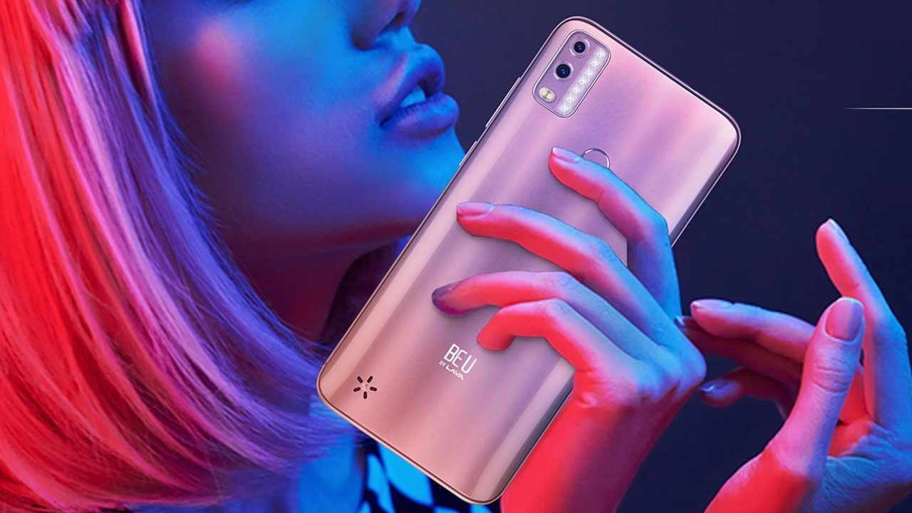 LAVA BEU WITH HD+ DISPLAY, 13MP CAMERA LAUNCHED AT RS 6,888 IN INDIA
