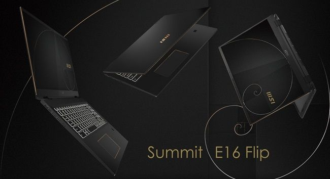 MSI Summit E16 Flip