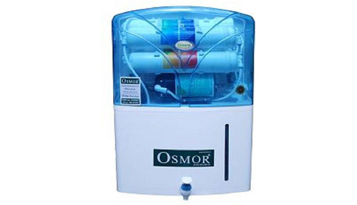 Osmor osmo 541 SMART ECO PLUS with Mineral Enhancer RO WATER FILTER 9.5 L RO Water Purifier (White)