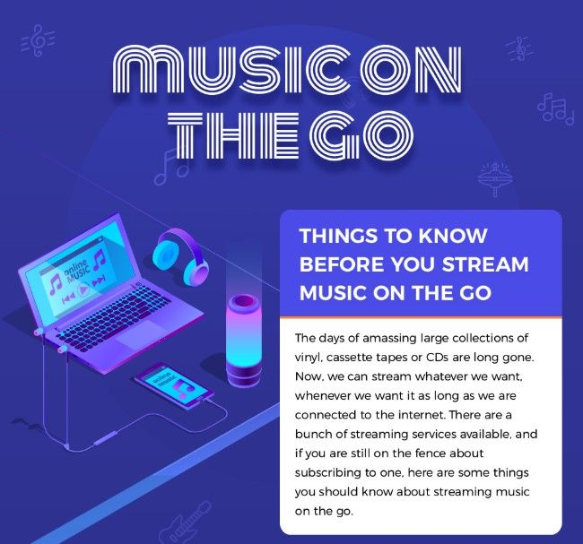 Things you need to know before you stream music on the go