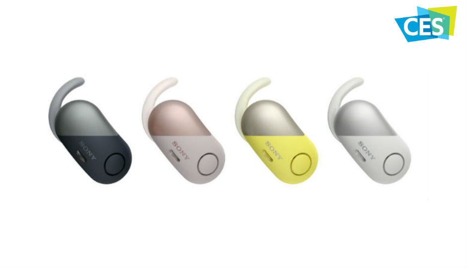 Sony unveils wireless noise-canceling in-ear headsets, MDR headphones, Extra Bass Bluetooth speakers and sound bars at CES 2018