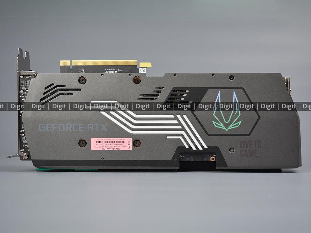 ZOTAC RTX 3080 Ti AMP Holo Back