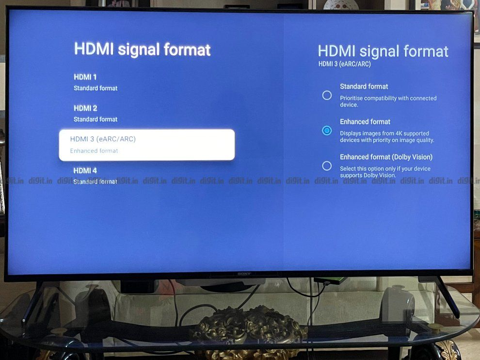 The Sony X90J supports 4K at 120Hz.