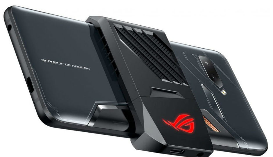 Asus Rog Gaming Smartphone With Air Triggers Overclocked Snapdragon