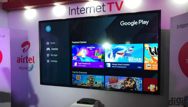 Airtel launches Android TV powered Internet TV set-top box