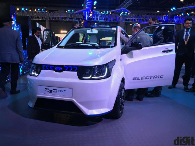 All Electric Cars Showcased At Auto Expo 2018 Digit In