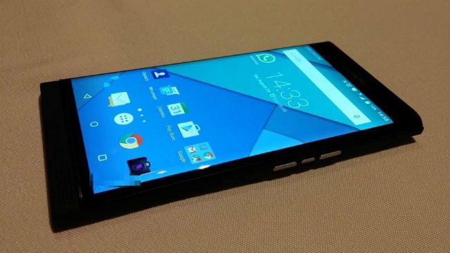 New image leak shows Android-powered BlackBerry Venice