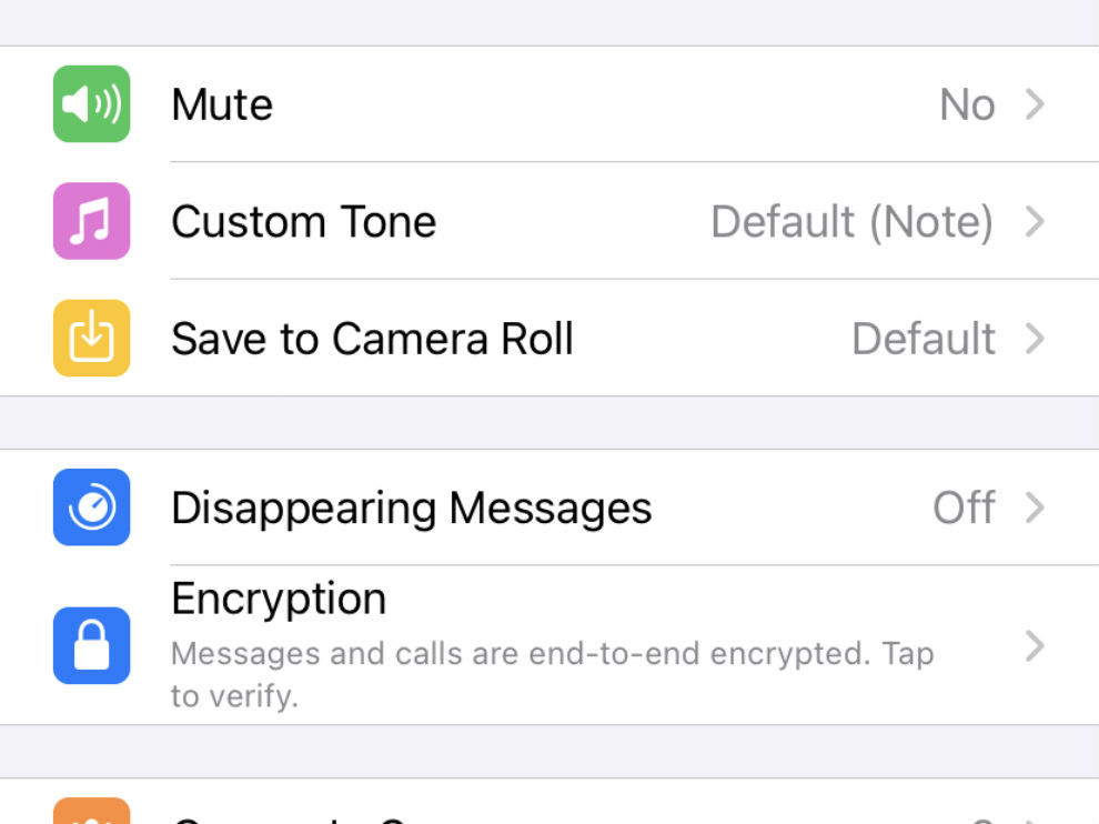 You can send a disappearing message on WhatsApp to an Individual contact or a group.