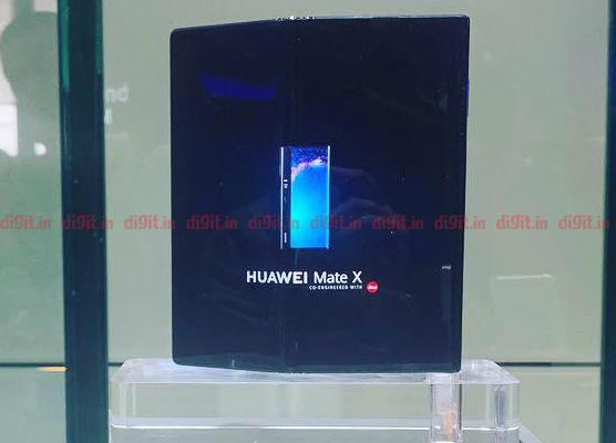 Huawei Mate X At MWC Barcelona