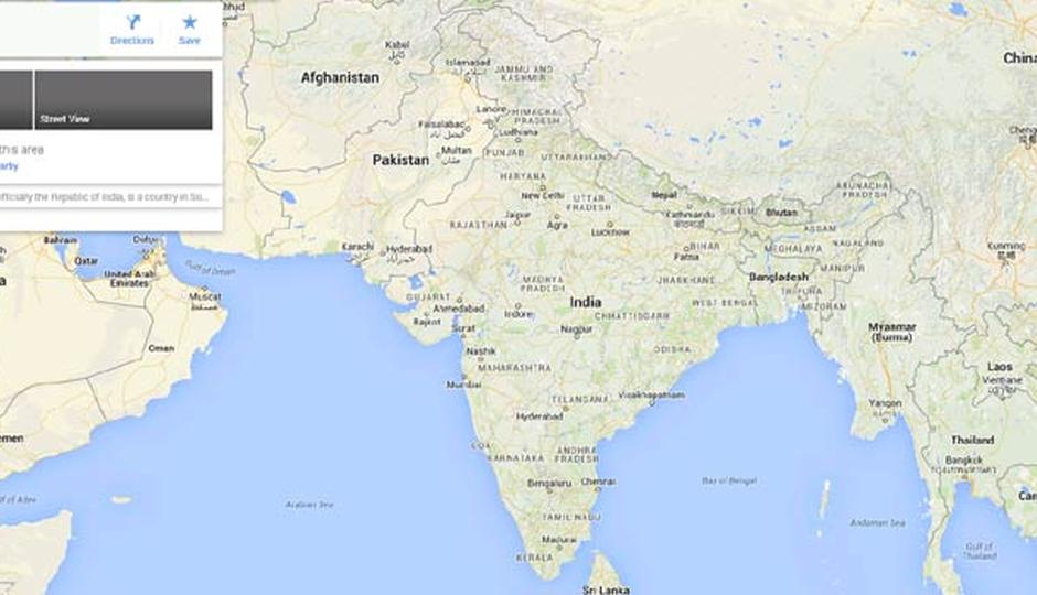 Survey Of India Files Complaint Against Google For Inaccurate Maps