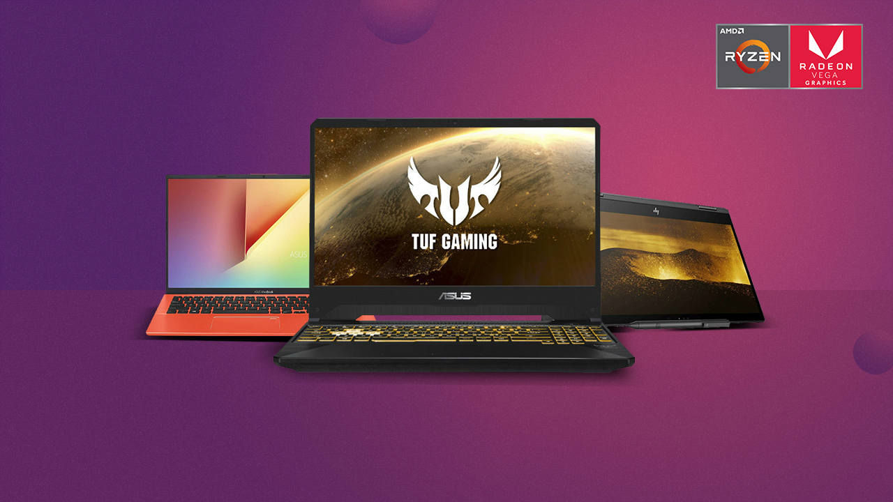 The Best AMD-powered laptops in India