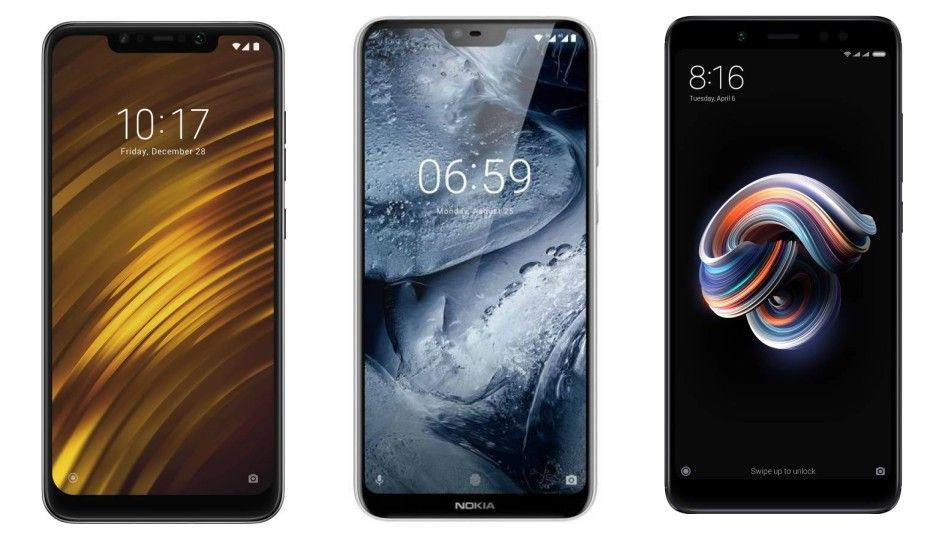 Image result for Flipkart Qualcomm Days Sale Offers Poco F1, Redmi Note 5 Pro, Realme C1, Nokia 6.1, Other Phones on Discount