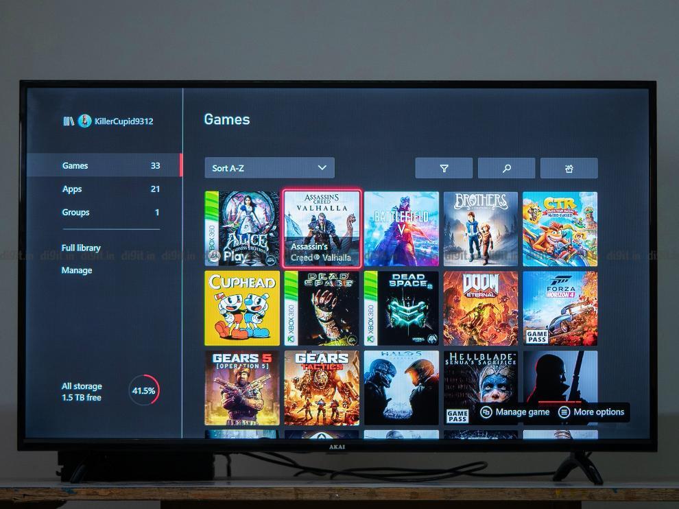 The Akai 43-inch FHD TV has a game mode.