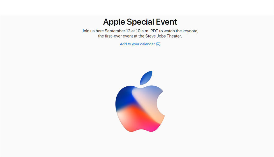 Apple confirms September 12 event: iPhone 8, iPhone 7S and ...