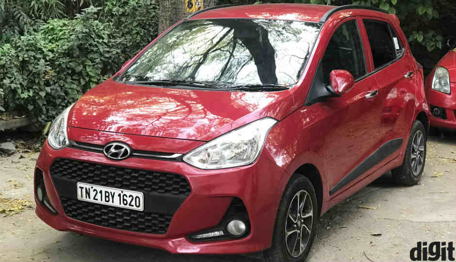 2017 hyundai grand i10 review feature rich upgrade to the. Black Bedroom Furniture Sets. Home Design Ideas