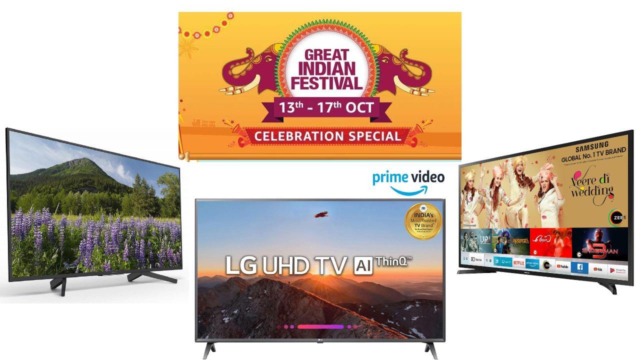 Amazon Great Indian Festival sale: Best TV deals under Rs 50,000