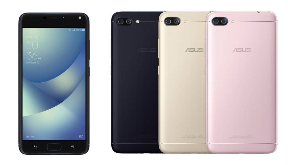 Asus Zenfone 4 Max Launched With 55 Inch Display Dual