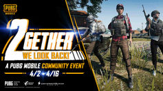PUBG Mobile's '2gether We Look Back' community contest gives players the chance to win 6000 UC