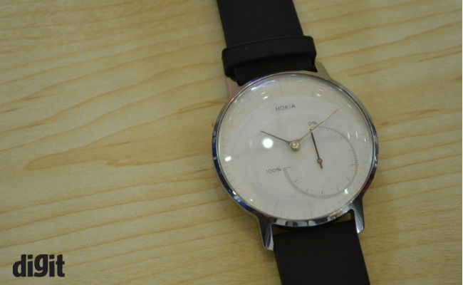 nokia watch hr. the nokia steel is essentially withings activate that we reviewed last year, while go a coin-sized activity tracker, which can be worn via watch hr w
