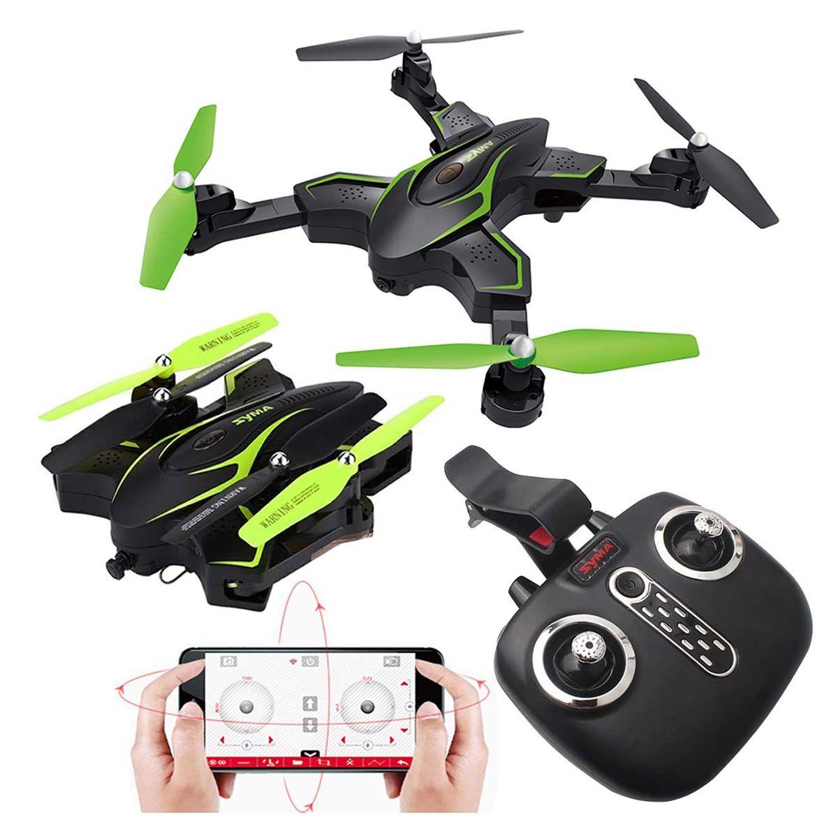 Kiditos Syma X56W-P Foldable Quadcopter Drone