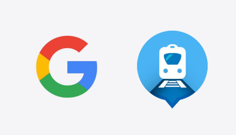 Google acquires Where is my Train app developer Sigmoid Labs startup