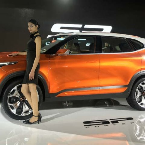 Kia debuts in India with SP Concept SUV, Optima PHEV and more