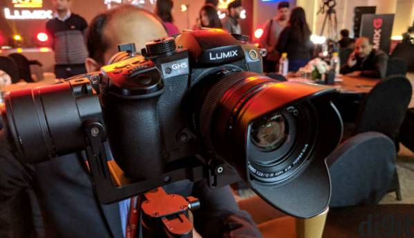Panasonic launches Lumix GH5S cinema 4K video recording camera in India at Rs 184,990