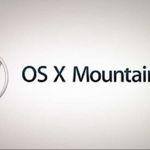 Mac OS X 10.8 Mountain Lion available for download via Mac App Store