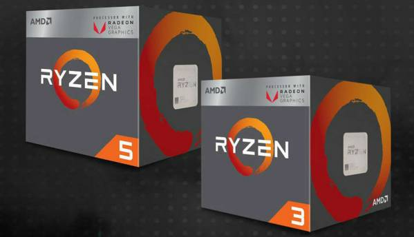AMD Ryzen 3 2200G and Ryzen 5 2400G with Radeon Vega GPU are here