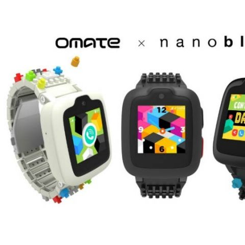 Tata Communications partners with Omate to showace Omate x Nanoblock smartwatch for children at MWC 2018